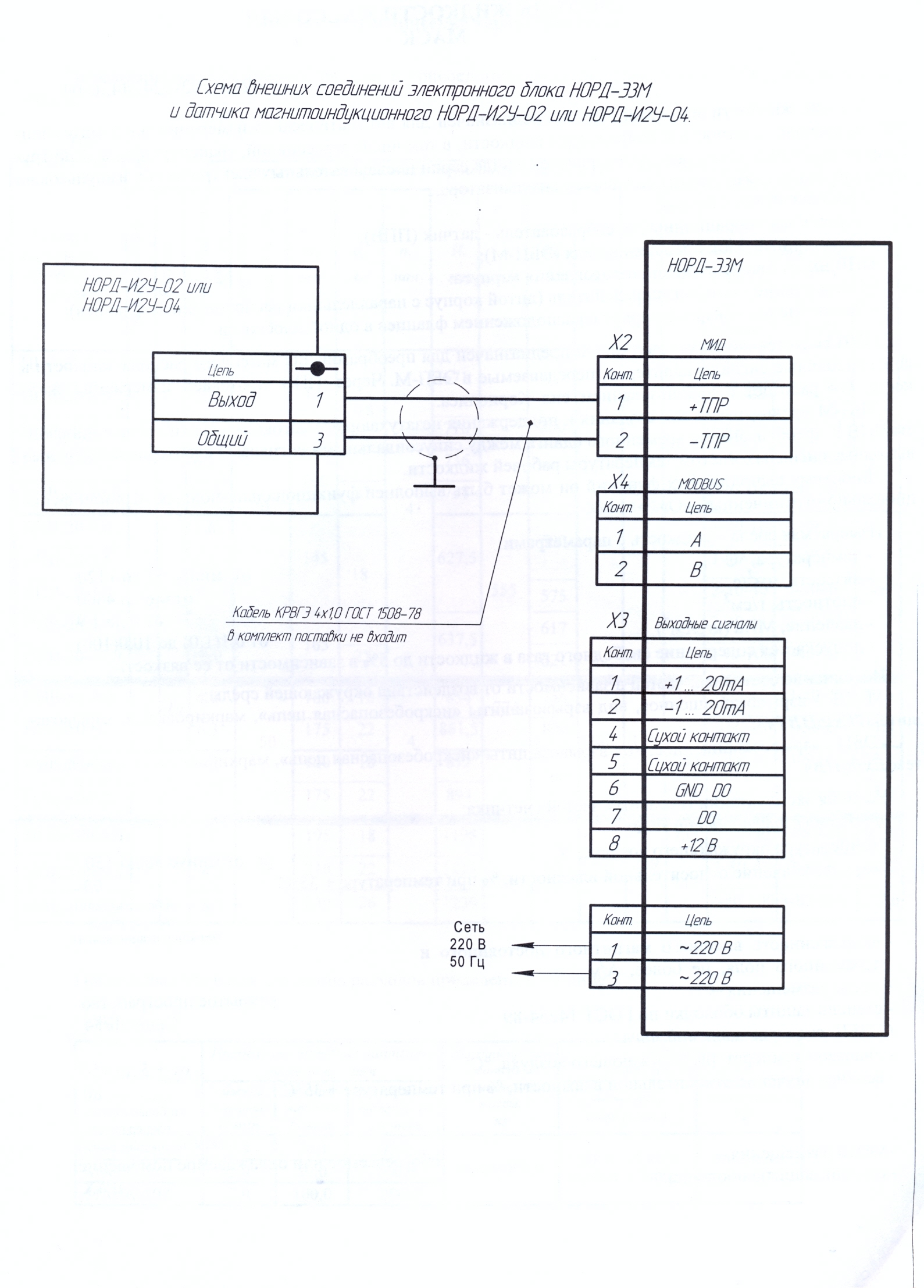 Бс-1м схема подключения