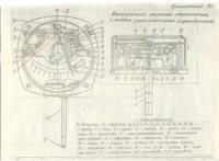 конструкция местного термометра с радиалым расположеним  термобаллона